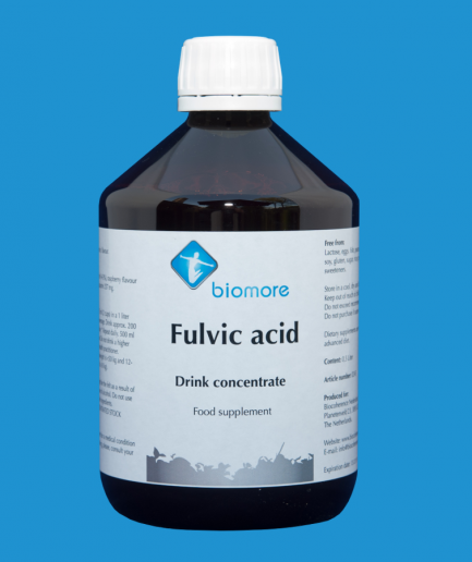 Fulvic acid drink