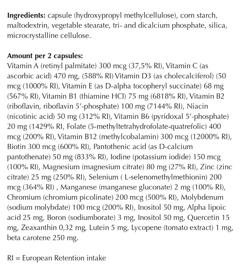 Vitamine Life - left